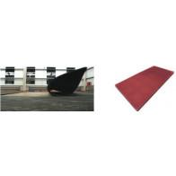 Рулонное покрытие на основе резиновой крошки 1500x6000 толщина 10 мм