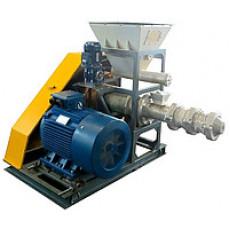 Пресс экструдер для топливных брикетов